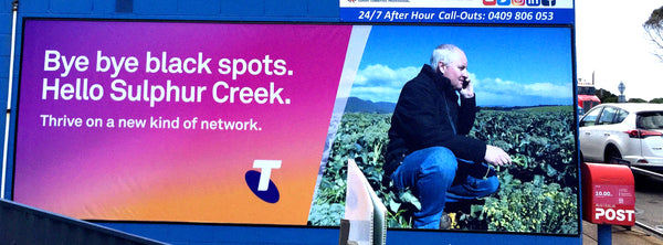 Telstra Billboard