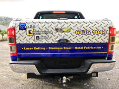 Coastal Engineering Vehicle Signage Tailgate