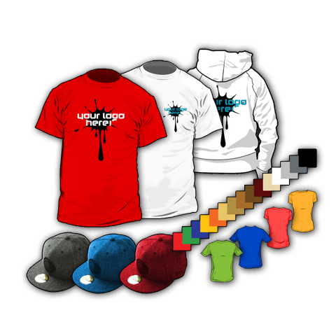 T-Shirts, Caps, Hoodies, Jackets and much more