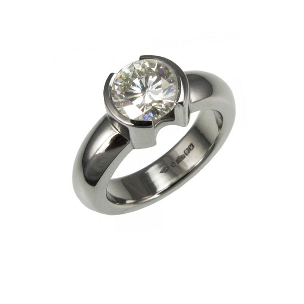 1.25ct Platinum Engagement Ring