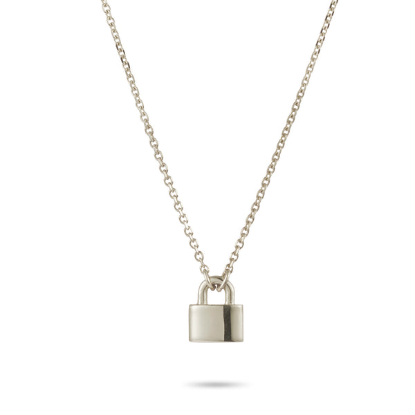 Love Lock Necklace in Sterling Silver