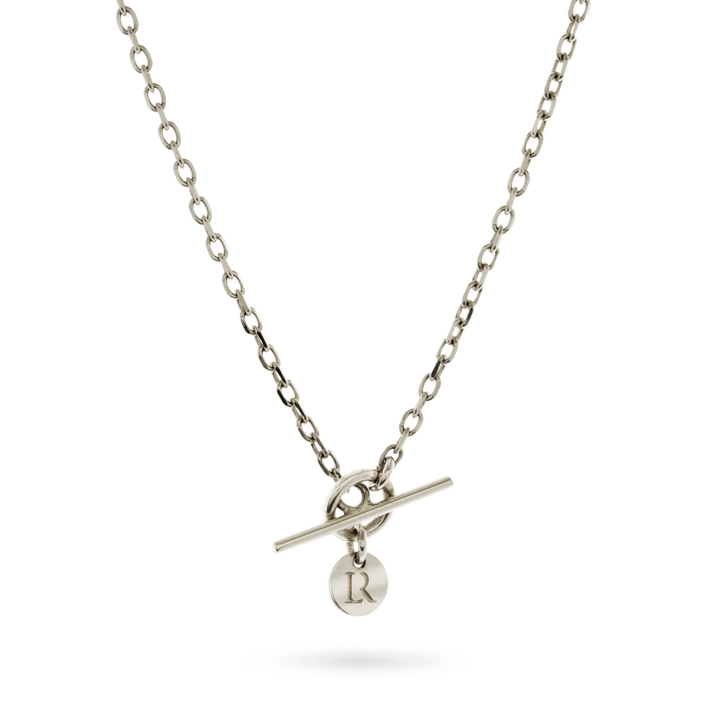 Baby T Bar Necklace