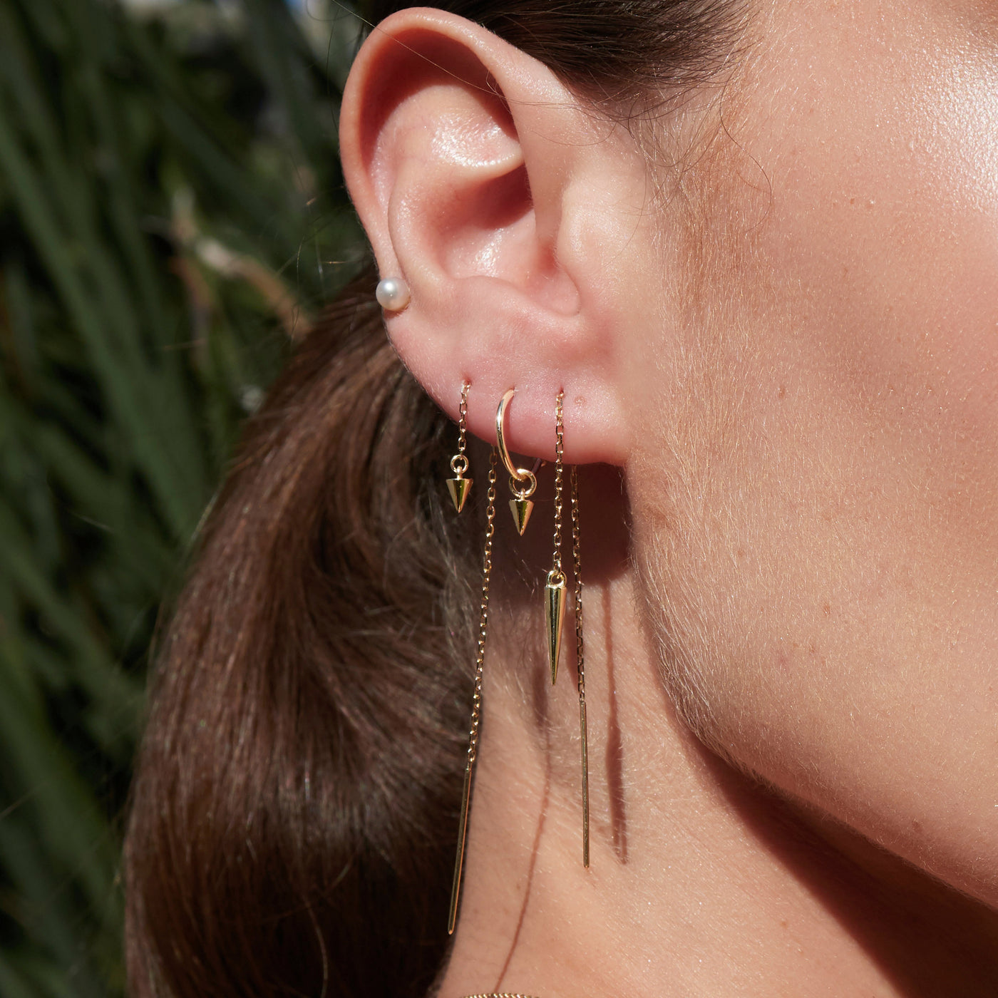 Baby Spike Sleeper Earrings