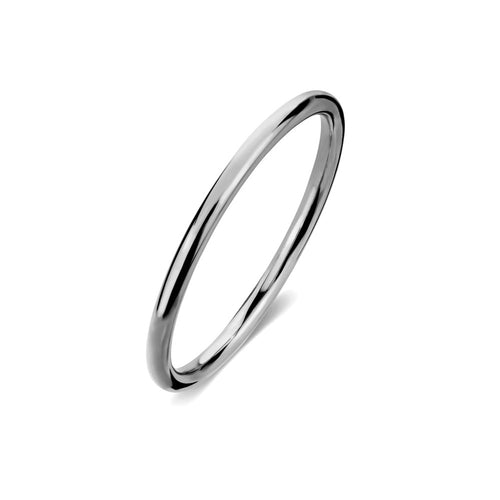 ELEMENTS Halo Ring Rhodium