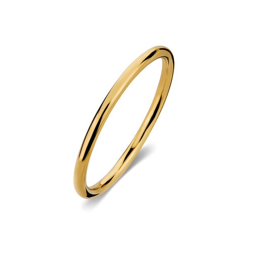 ELEMENTS Halo Ring Yellow Gold