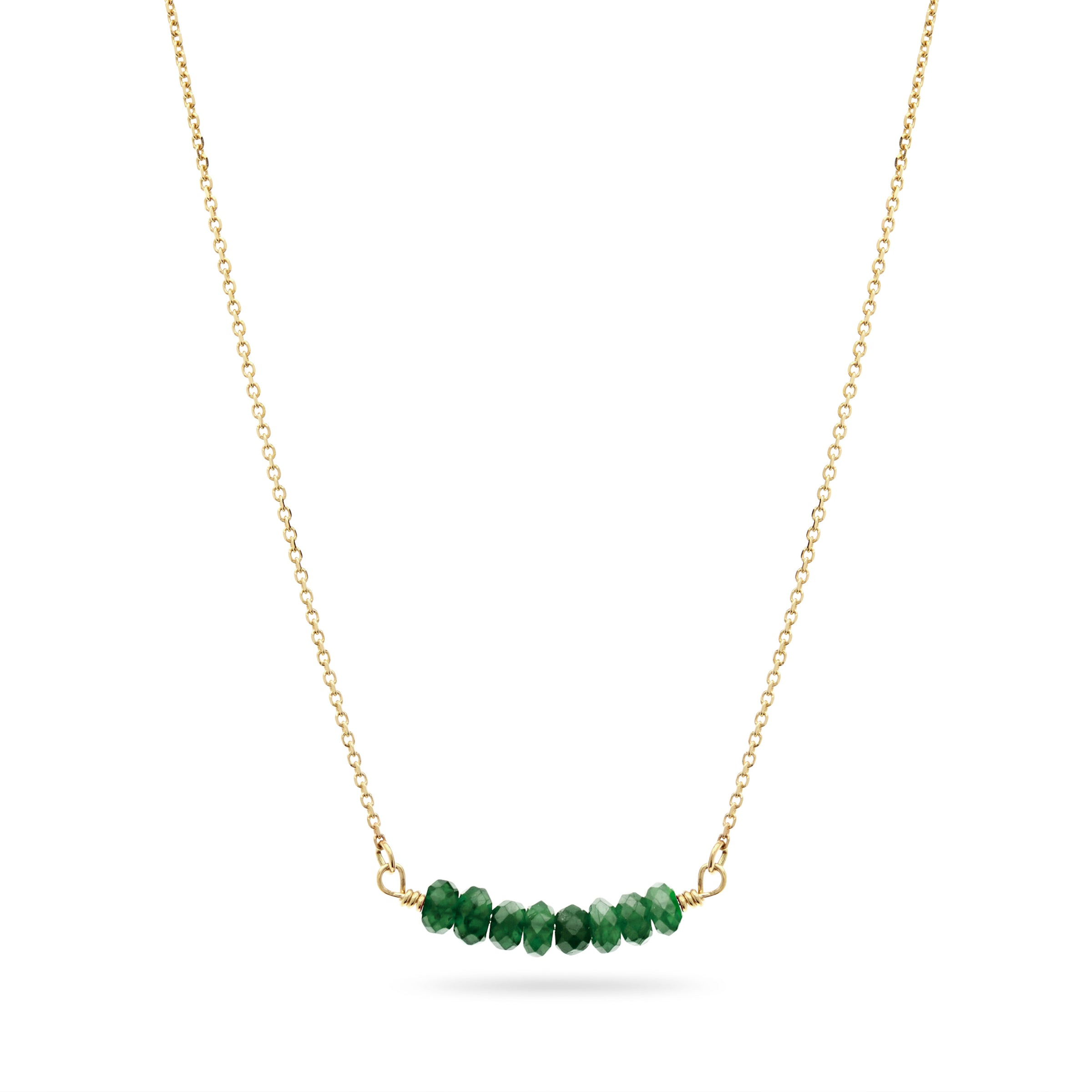 Emerald Smile Necklace