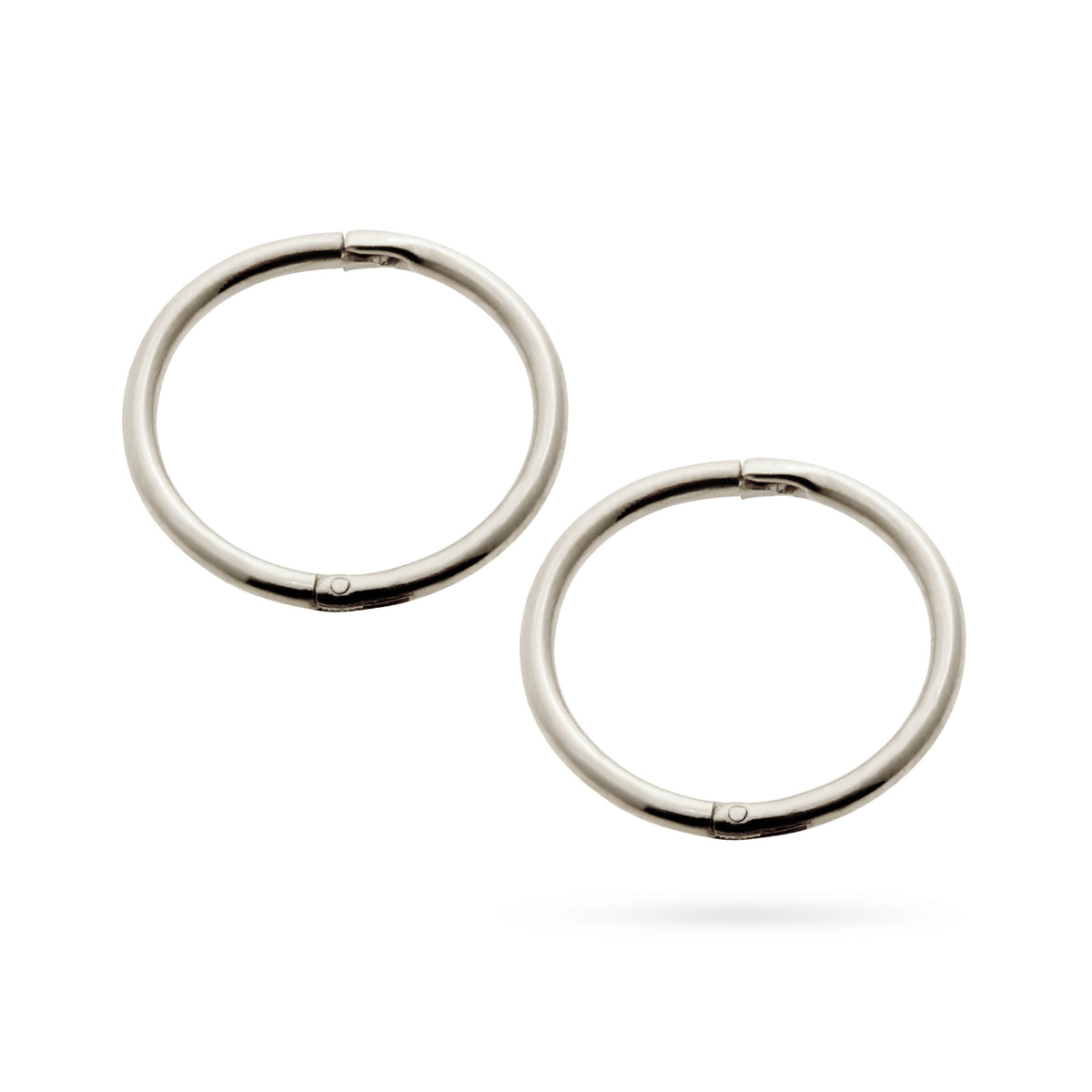 Halo Sleeper Earrings in 8mm, 10mm or 13mm