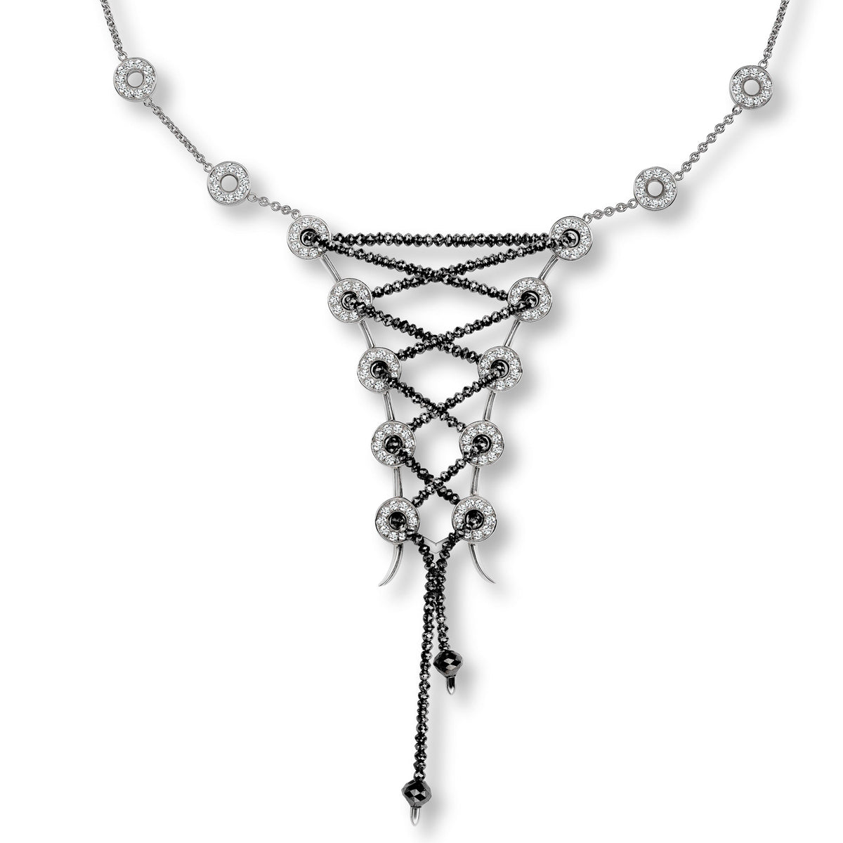"Platinum ""ICON"" Necklace"