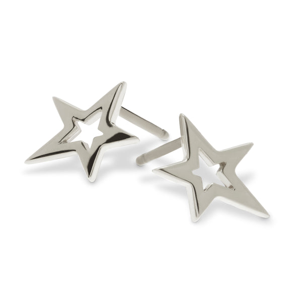 Star Earrings by Luke Rose