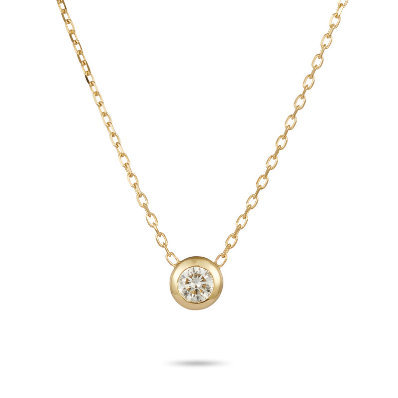 Diamonds are FOREVER Necklace in Yellow Gold