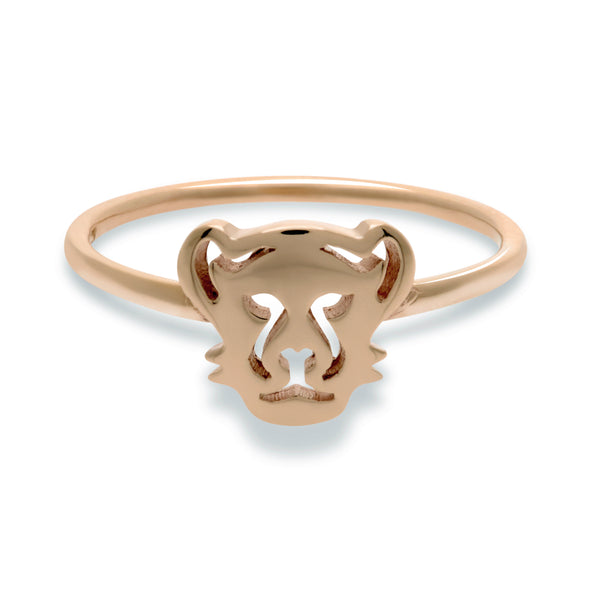 Panther Ring in Rose Gold