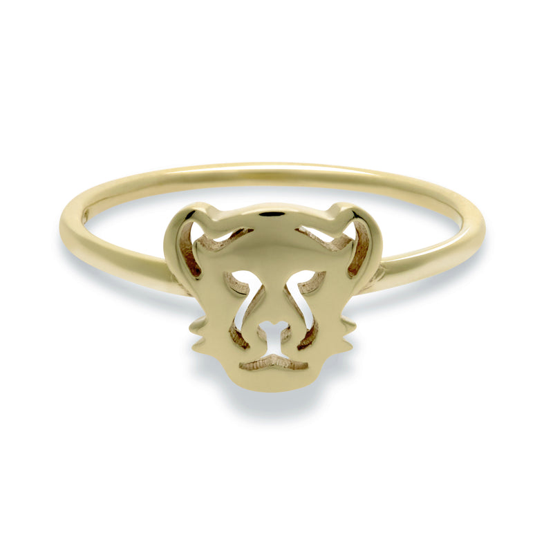 Panther Ring in Solid Gold