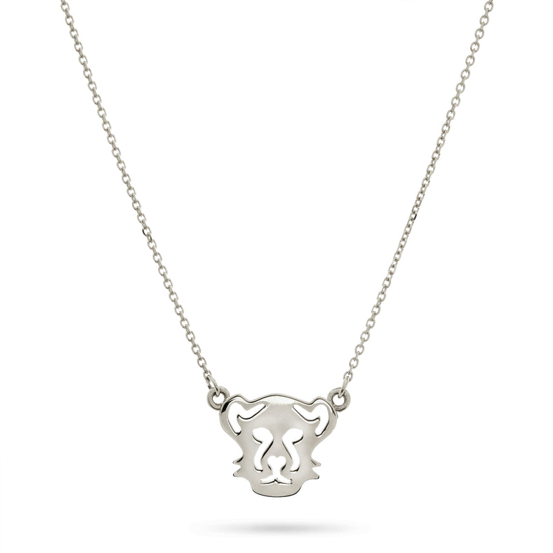Panther Necklace in Sterling Silver