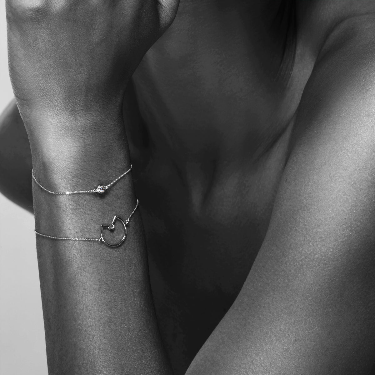 Luke Rose Jewellery Silver Bracelets