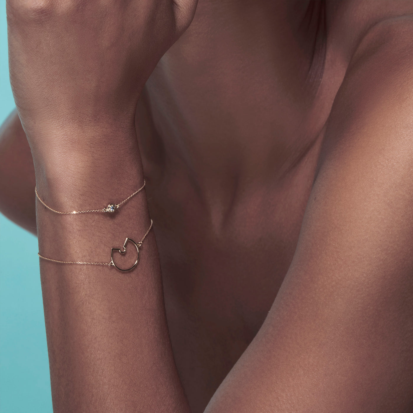 Luke Rose Jewellery Gold Bracelets