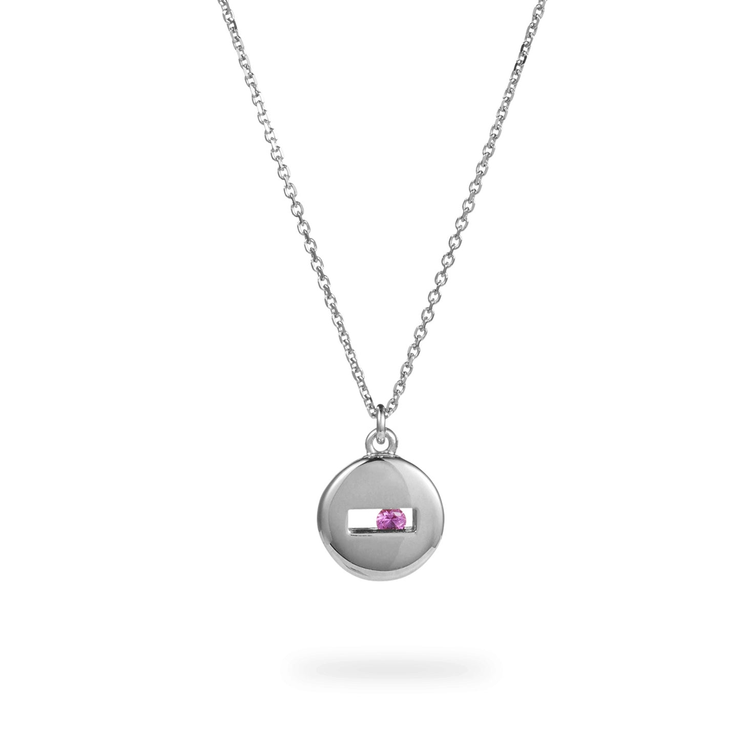 Luke Rose Jewellery silver rolling rock necklace