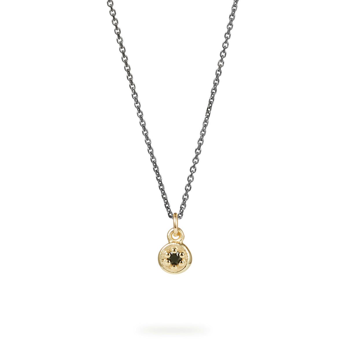 Single Poppy Rock Necklace