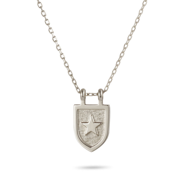 Protection Necklace in Sterling Silver