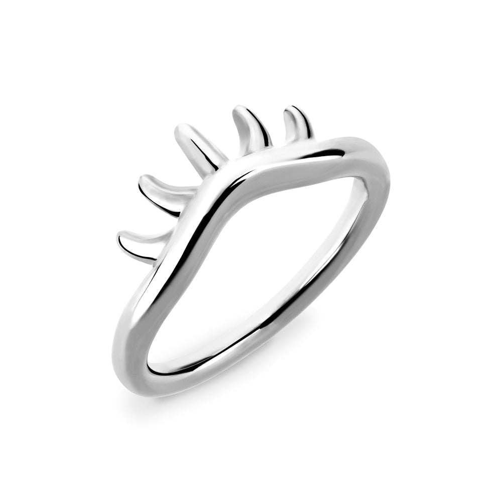 BLINK Baby Lashes Eye Ring Rhodium