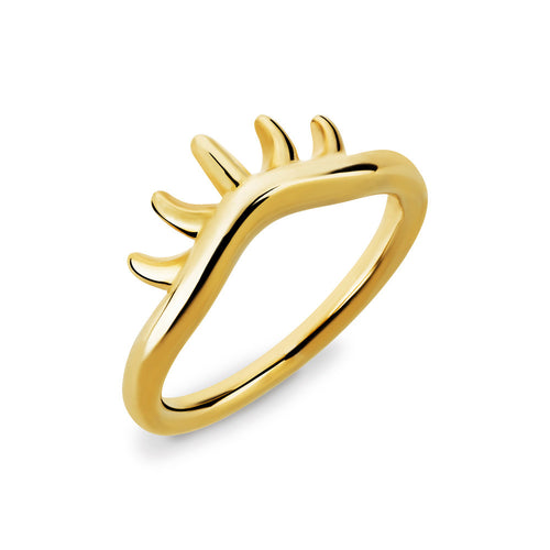 BLINK Baby Lashes Eye Ring Gold