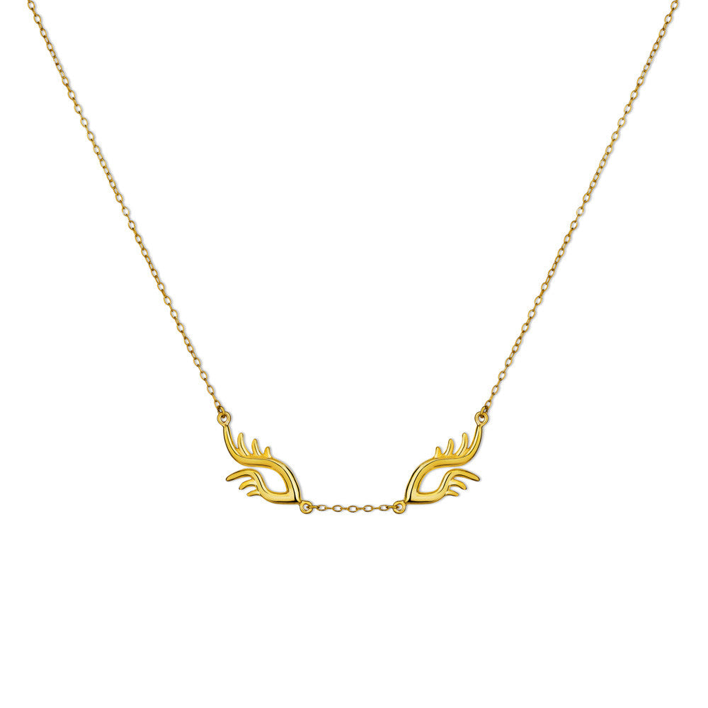 BLINK Bright Eyes Necklace Gold