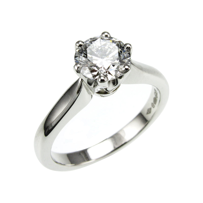 1ct Solitaire Engagement Ring.
