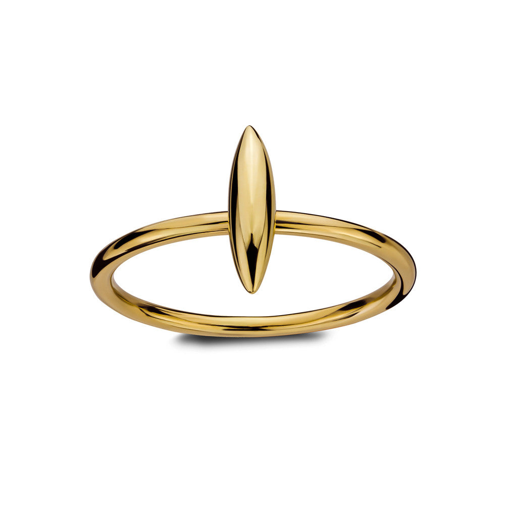 ELEMENTS Static Form Ring Yellow Gold