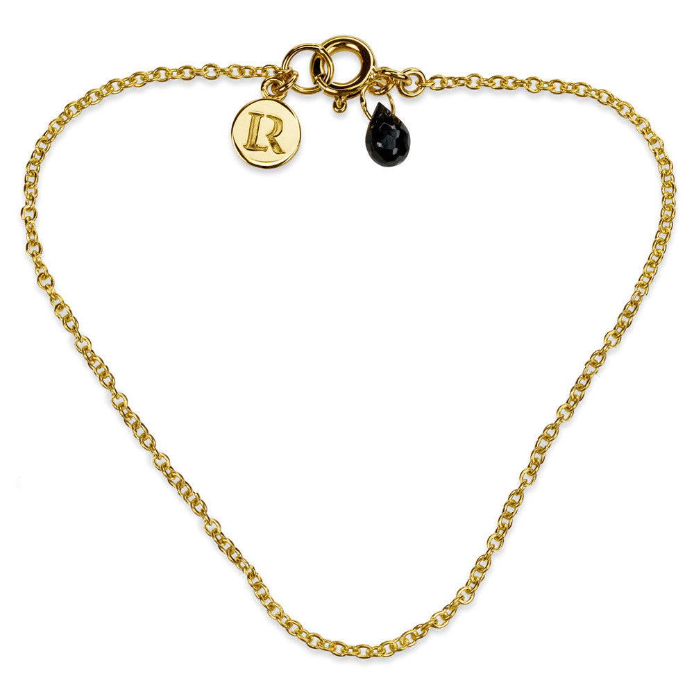 ELEMENTS Ink Drop Bracelet Yellow Gold