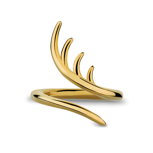 BLINK Entwined Ring Gold