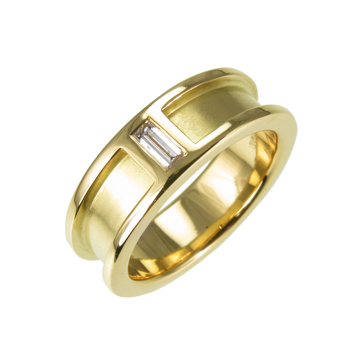 18ct Gold Men's Wedding Band