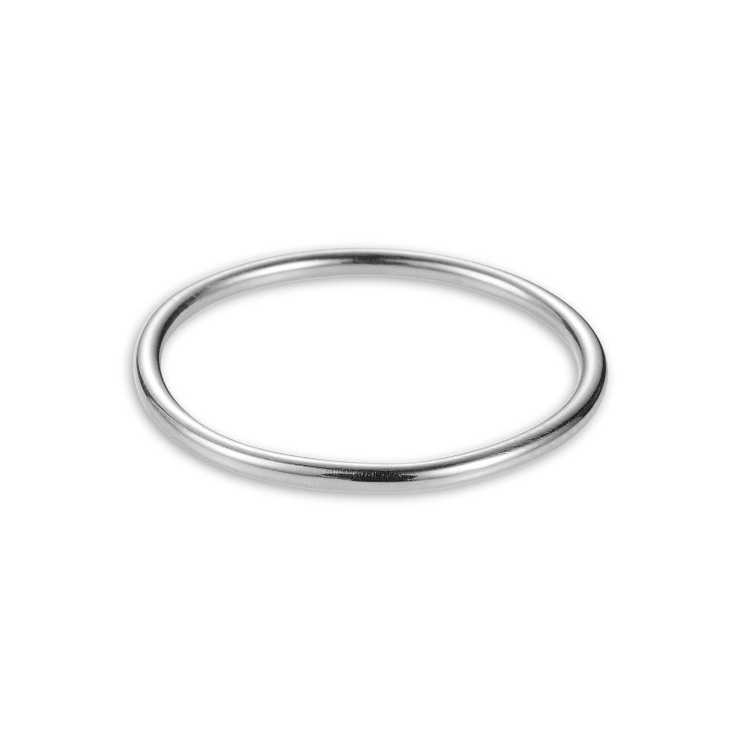 Luke Rose Jewellery silver halo stack ring