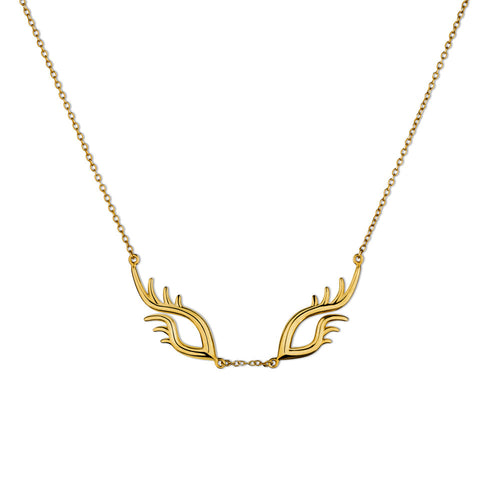 BLINK Large Bright Eyes Necklace Gold