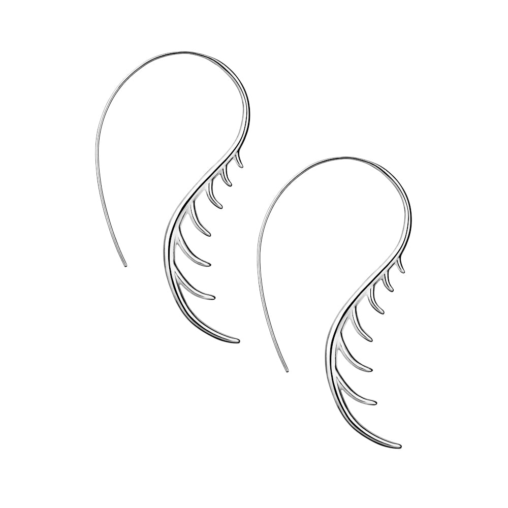 BLINK Long Lashes Curved Earrings