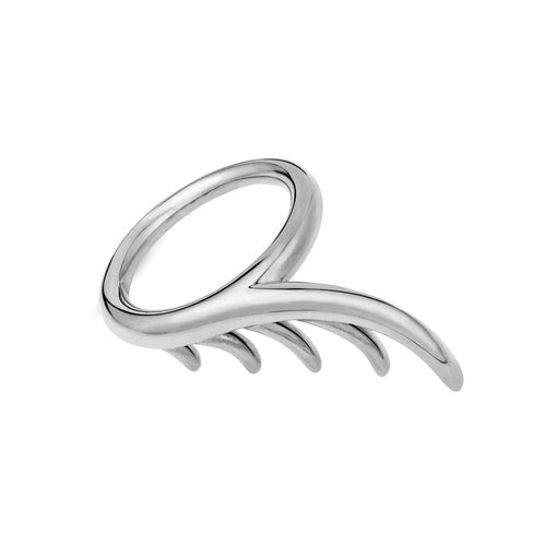 BLINK Long Lashes Single Ring Rhodium