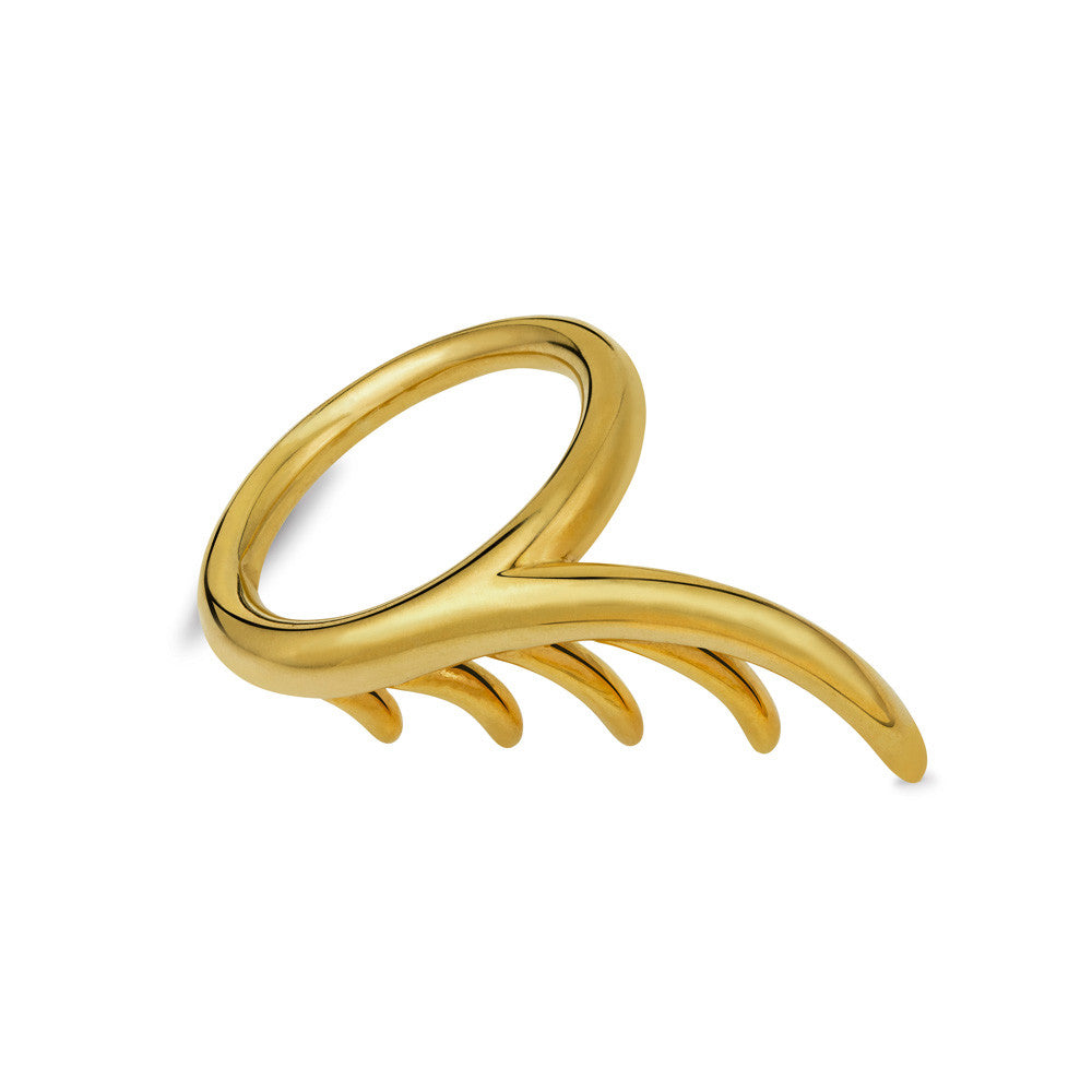 BLINK Long Lashes Single Ring Gold