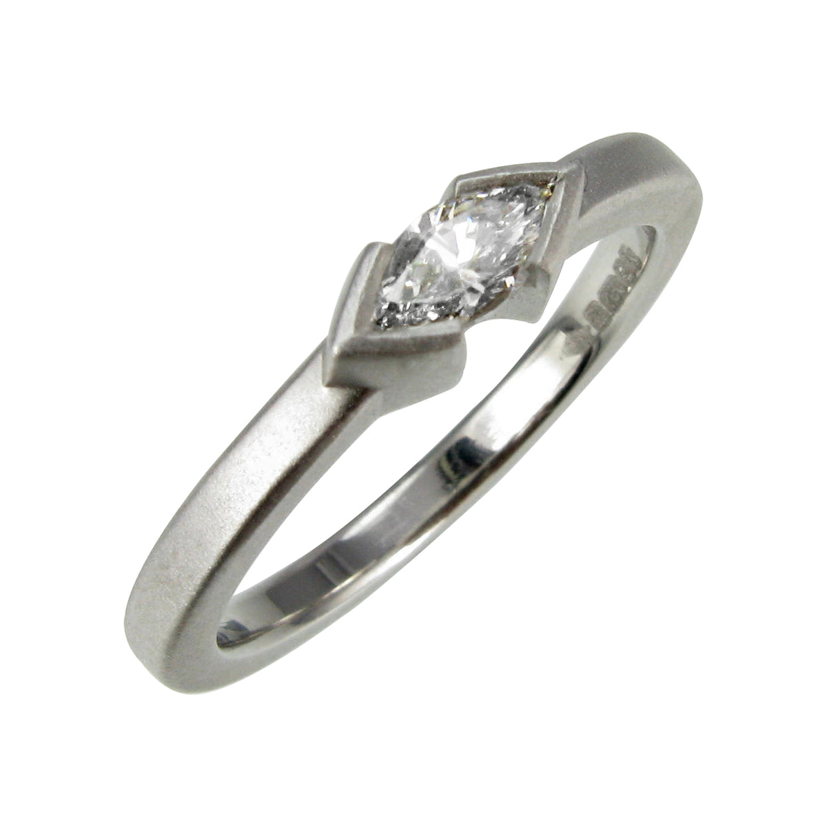 Bespoke Platinum & Diamond Engagement Ring