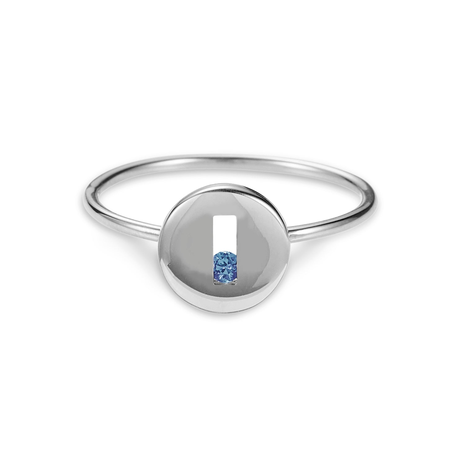 Luke Rose Jewellery Rolling Rock Silver Ring