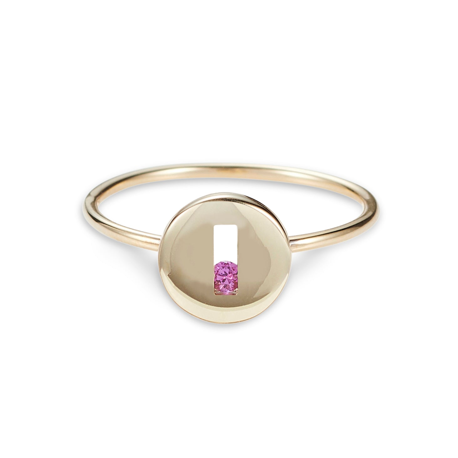 Luke Rose Jewellery Rolling Rock Gold Ring