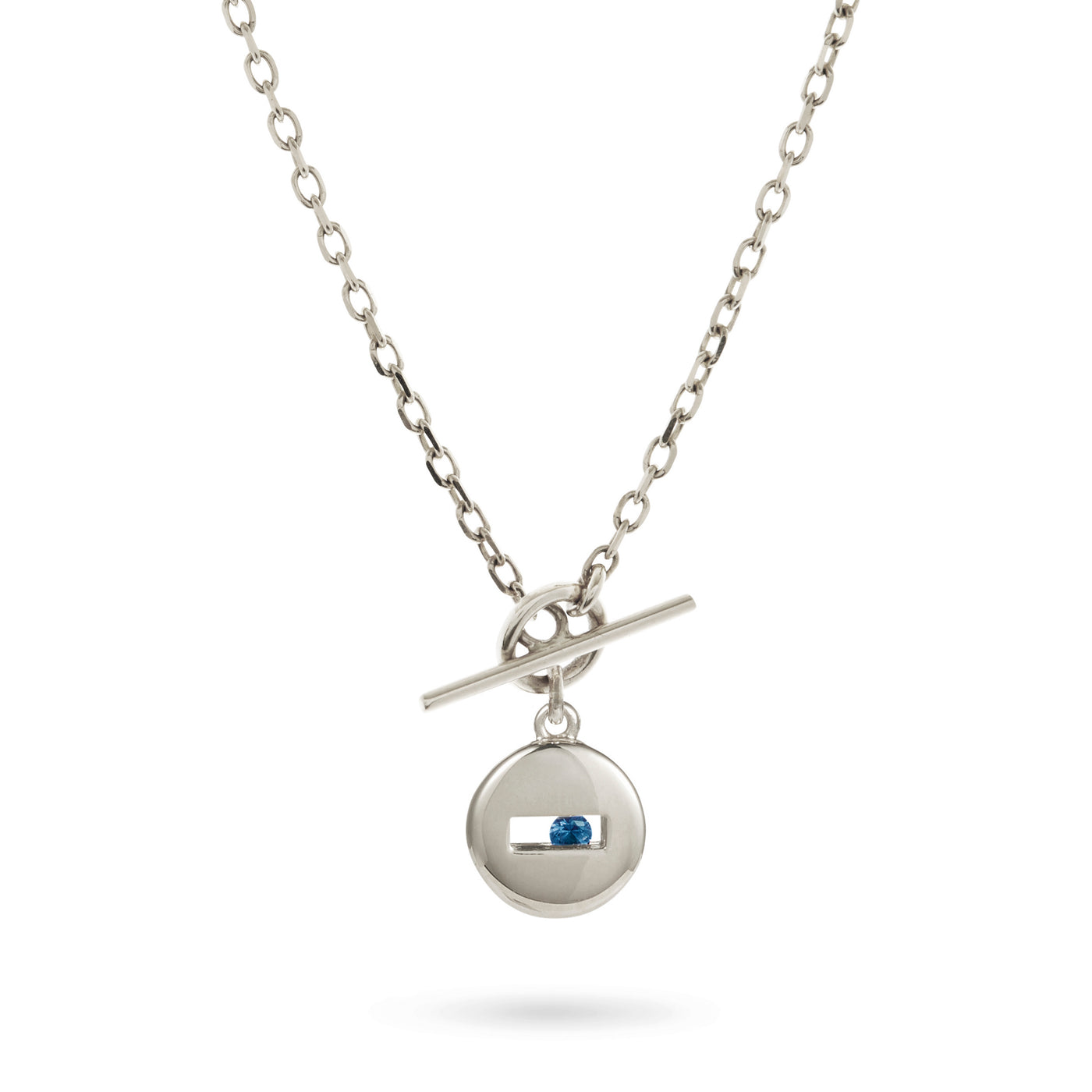Rolling Rock T-Bar Necklace