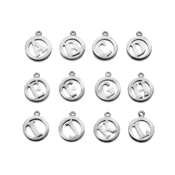 Luke Rose Jewellery silver me and my initials
