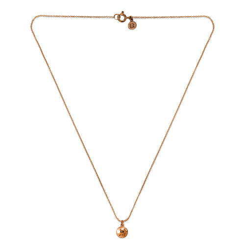 ELEMENTS Star Bud Necklace Rose Gold