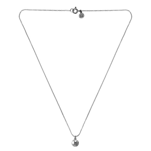 ELEMENTS Star Bud Necklace Rhodium