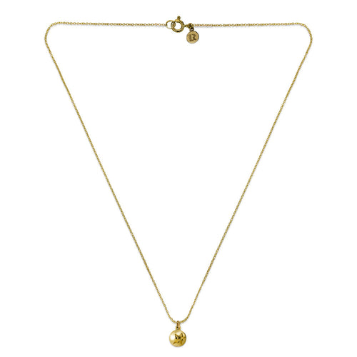 ELEMENTS Star Bud Necklace Yellow Gold