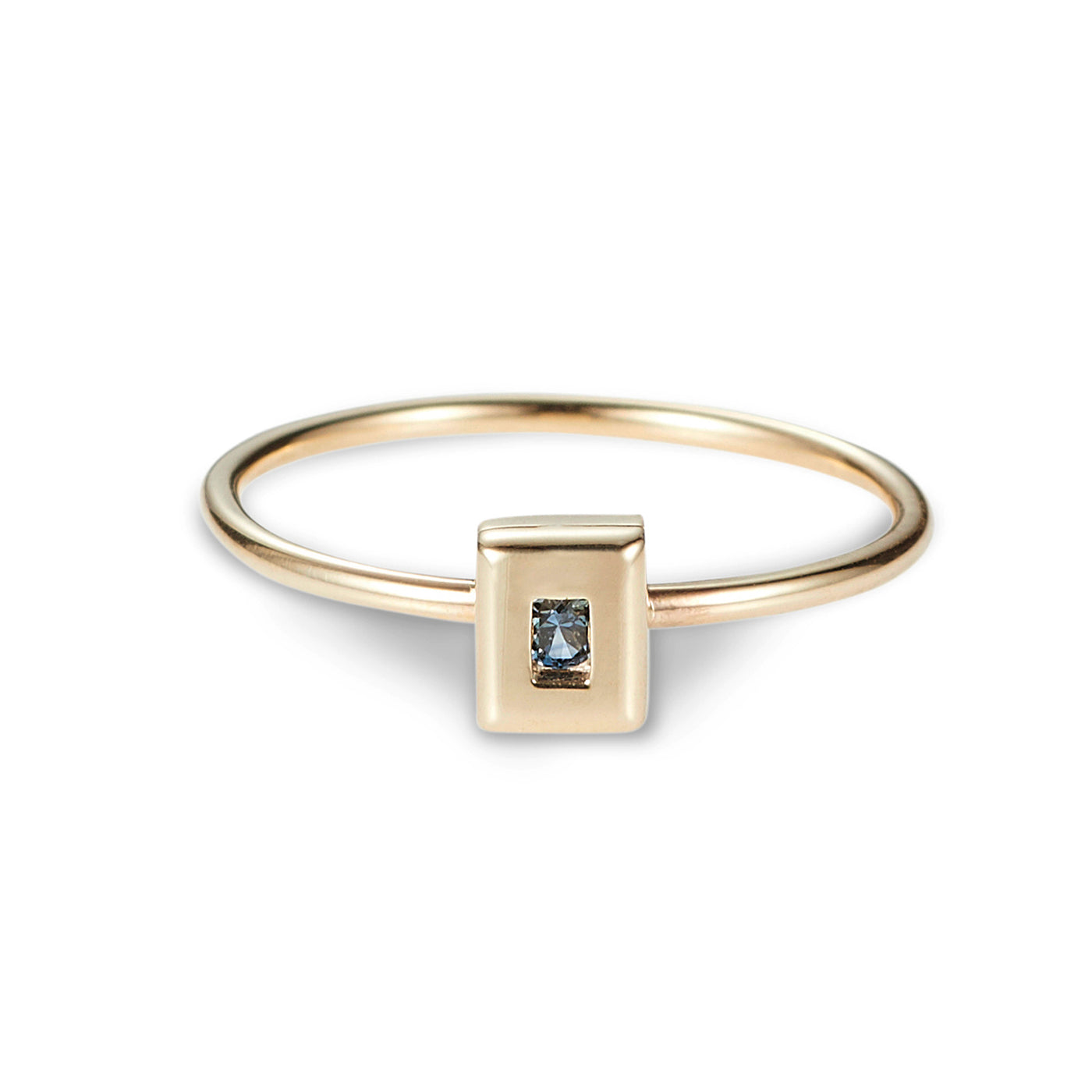 Luke Rose Jewellery rock collection gold stack ring