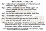 Bear Carving Kit
