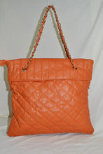 Quilted Tote bag with Tassel