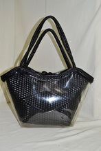 2 in 1 Woven and Clear Bag