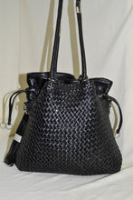 2 in 1 Woven Bag with Satchel