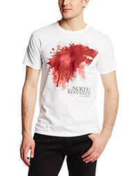 Game of Thrones Men's The North Remembers T-Shirt [ID: Z-X110]