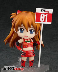 Nendoroid no468 EVA Shikinami Asuka Langley Evangelion Racing Ver Action Figure